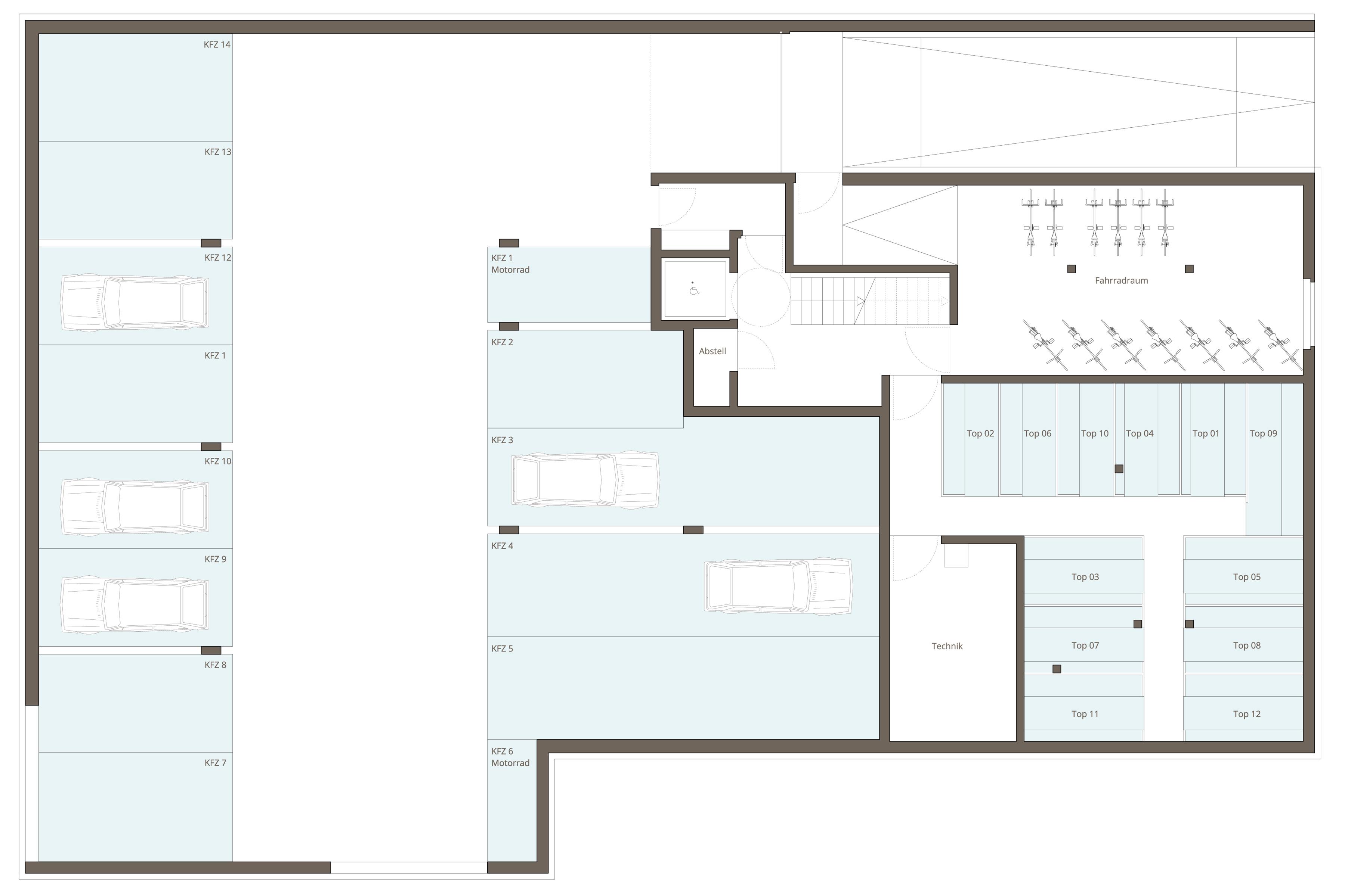 2 zimmer wohnung top 06 wohnen am wasserturm hard k nz immobilien gmbh. Black Bedroom Furniture Sets. Home Design Ideas